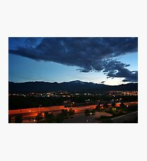 Pikes Peak Sunset #6 Photographic Print