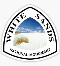 White Sands National Monument Sticker