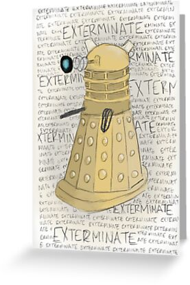 Exterminate! by greenfinch