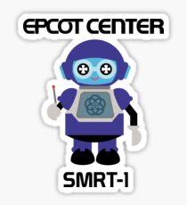 SMRT-1EpcotBlack Sticker