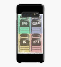 Pro Wrestling is Art (chairs) Case/Skin for Samsung Galaxy