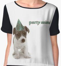 Party Animal Women's Chiffon Top