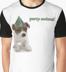 Party Animal Graphic T-Shirt