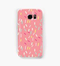 Sprinkles in Pink Samsung Galaxy Case/Skin