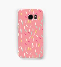 Sprinkles in Pink Samsung Galaxy Case/Skin