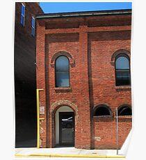 Burlington, North Carolina - Arches and Alley Poster