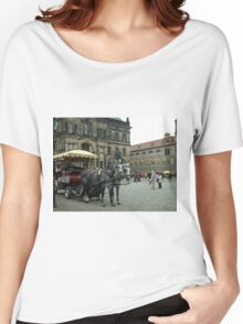 Tourist Time in The Old City Women's Relaxed Fit T-Shirt