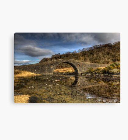 The Bridge Over The Atlantic Canvas Print