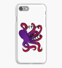 Octopi Wall Street (+sticker) iPhone Case/Skin