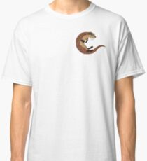 Swimming Otter Isolated Classic T-Shirt