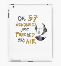 57 Academics (for light shirts) iPad Case/Skin