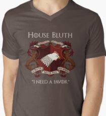 House Bluth Family Seal Men's V-Neck T-Shirt