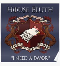House Bluth Family Seal Poster