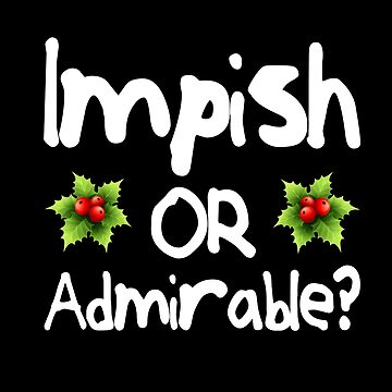 Impish or Admirable? - The Office inspired Belsnickel Design by screampunk