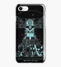 Voltruvian Man (Blue) iPhone Case/Skin