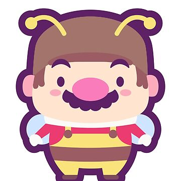 Bee Mario by pixelhans