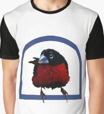 Bird on a perch Graphic T-Shirt