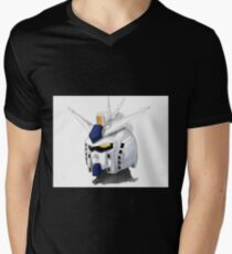 FA Gundam Mens V-Neck T-Shirt