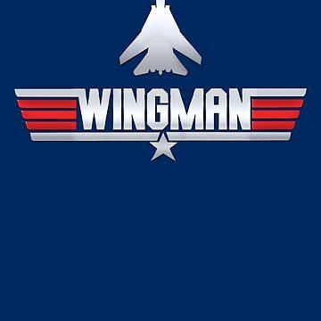 Wingman - TOP GUN by garlic-creative
