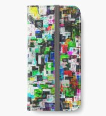 Layered Boxes Abstract iPhone Wallet/Case/Skin