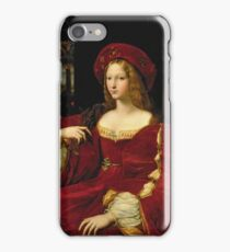 Vintage famous art - Giulio Romano - Portrait Of Jeanne Of Aragon  iPhone Case/Skin
