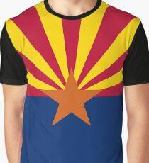 Arizona Flag Banner Graphic T-Shirt