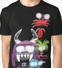 Evil Imaginary Friends Graphic T-Shirt