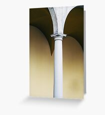 Architectural Arch Greeting Card