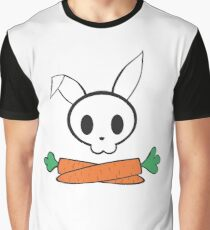 Rabbit and cross carrots Graphic T-Shirt