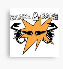 Abarth Shake & Bake Scorpion Canvas Print