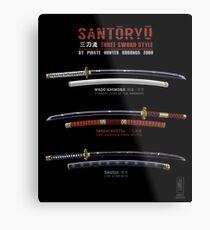 Santoryu Metal Print