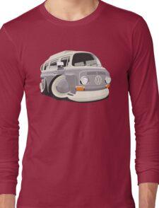 VW T2 bus caricature grey Long Sleeve T-Shirt