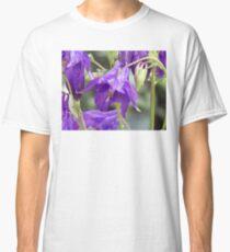 Pretty Pretty Purple Flowers Classic T-Shirt