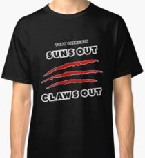 Toby Clements 'Suns Out Claws Out' Artwork #3 Classic T-Shirt