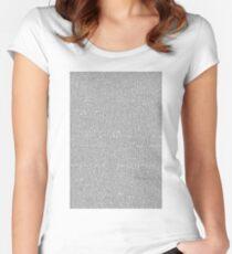 Shrek Script Women's Fitted Scoop T-Shirt