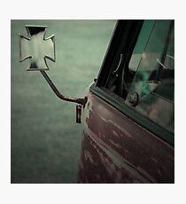 Rat Look VW Split Screen (Splitty) Van Image Photographic Print