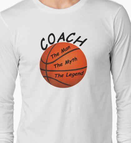 Basketball Coach - The Man - The Myth - The Legend T-Shirt