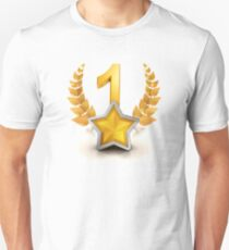 VIP number one winning badge as champion T-Shirt