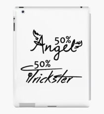 50% Angel - 50%Trickster iPad Case/Skin