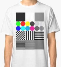 Extreme tone test pattern with colour Classic T-Shirt