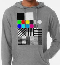 Extreme tone test pattern with colour Lightweight Hoodie
