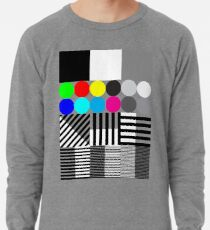 Extreme tone test pattern with colour Lightweight Sweatshirt