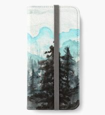 Surveying the slopes  iPhone Wallet/Case/Skin