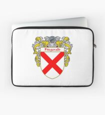 Fitzgerald Coat of Arms/Family Crest Laptop Sleeve