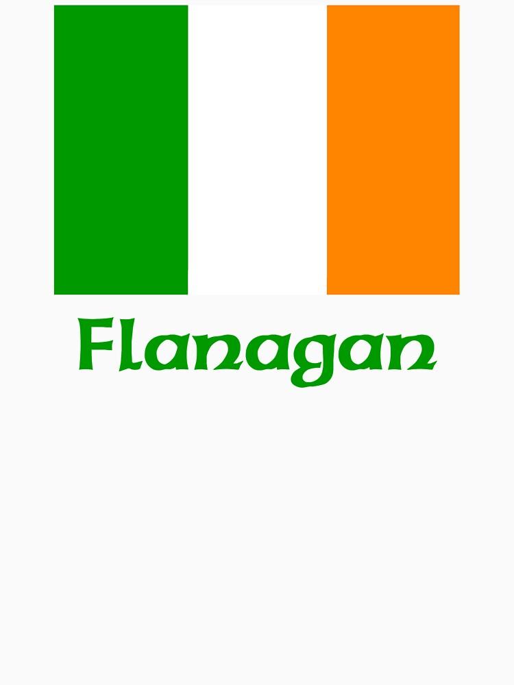 Flanagan Irish Flag by IrishArms