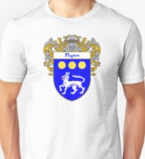 Flynn Coat of Arms/Family Crest T-Shirt