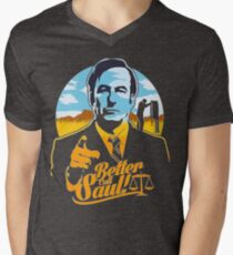 Better Call Saul Men's V-Neck T-Shirt