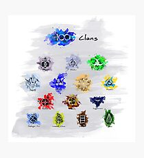 The 100 Clans Photographic Print