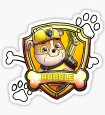 Rubble Sticker