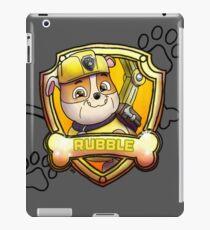 Rubble iPad Case/Skin